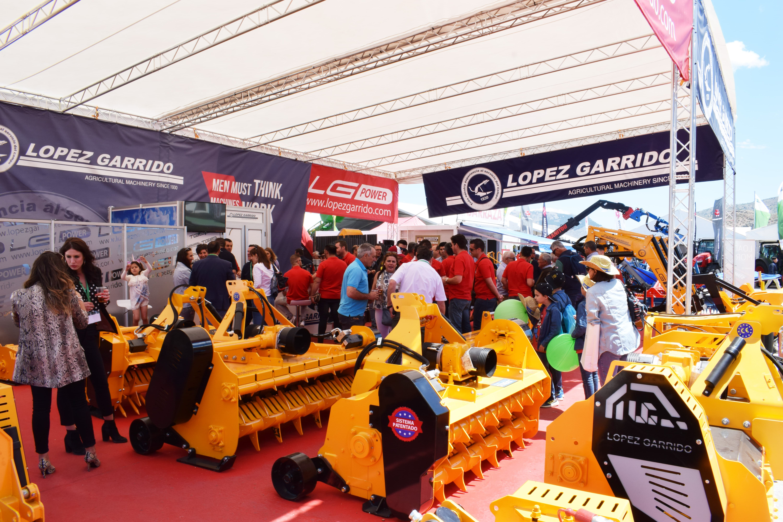 Feria Expoliva 2019 en el stand de López Garrido SA