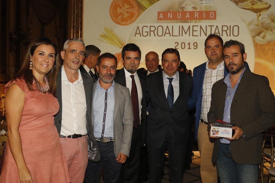 Entrega premio Lopez Garrido Anuario Agroalimentario 2019 Diario de Córdoba