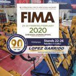 Lopez Garrido SA en FIMA 2020
